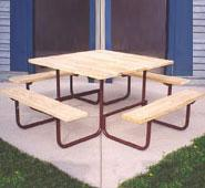 Camelback Square Picnic Table