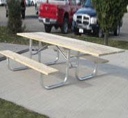 Traditional Wheelchair Accessible Table