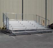 8 Row Bleachers