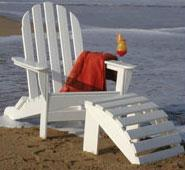 Polywood Curved Back Adirondack Chair
