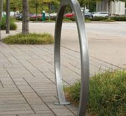 Modern Double-Sided Bike Rack