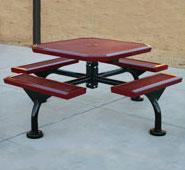 Thermoplastic Coated Picnic Tables