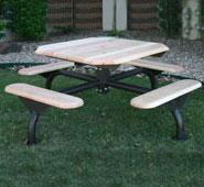 Natural Web Style Wood Table