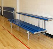 Hide-A-Bench Bleacher Seating