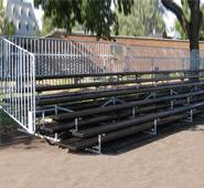 Perforated Bleachers