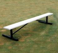 Plasti-Plank Series Bench without Back